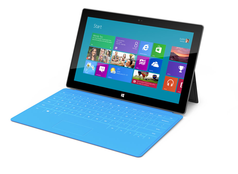 Demo; New Microsoft Surface Tablet & Windows 8 RT!