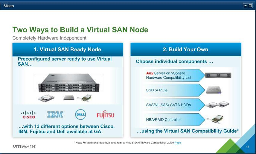 VMware's new VSAN - What Matters (2/2)