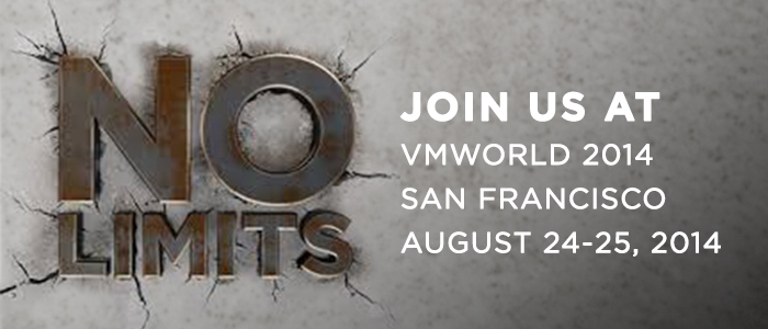 Scaling out VMWorld 2014, the pre-show blog.  Boom! (1/4)